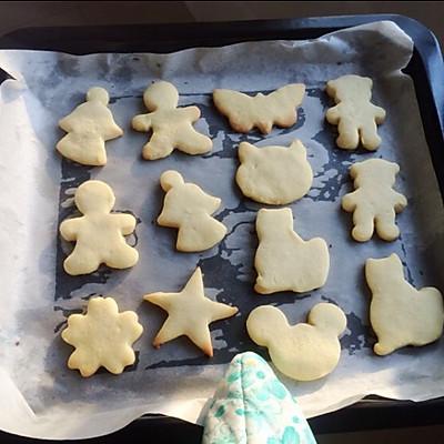 初体验の 卡通黄油小饼干的做法 步骤11