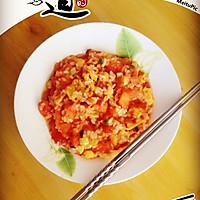 西红柿鸡蛋炒饭的做法图解1