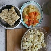 猪肉土豆炖粉条的做法图解2