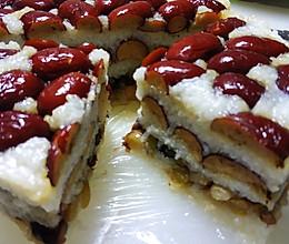 红枣蜜豆糯米切糕的做法