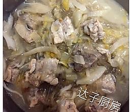 酸菜排骨炖粉条的做法