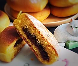 #多力金牌大厨带回家-北京站#喜饼+南瓜豆沙味的做法