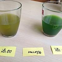如何鉴别添加色素的抹茶粉的做法图解2