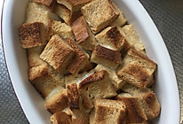 烤土司布丁的做法