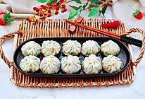 #今天吃什么#萝卜樱海鲜豆腐蒸饺的做法