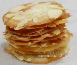 杏仁薄脆片   香薄脆的做法