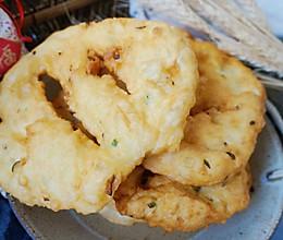 炸葱油饼#年味十足的中式面点#的做法