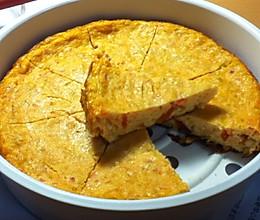 无油无面粉电饭煲木瓜燕麦蛋糕的做法