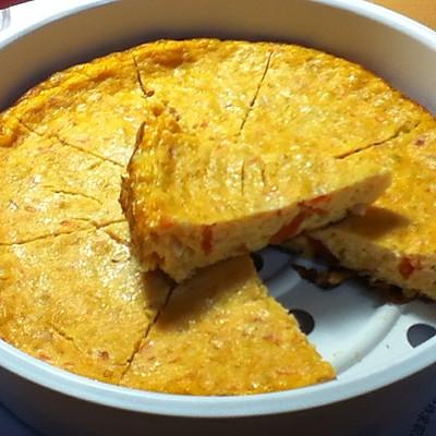 无油无面粉电饭煲木瓜燕麦蛋糕