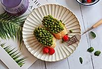 法棍毛豆+紫薯奶昔的做法