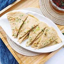 减脂早餐主食❗️全麦香葱鸡蛋软饼✅煎鸡蛋面糊饼❗️低脂低卡