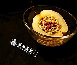 冰糖薏仁炖梨的做法