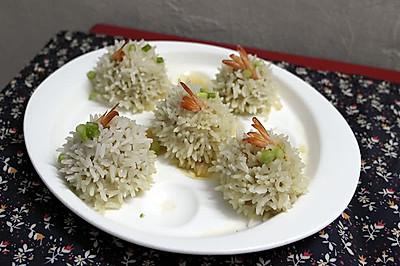 #寻找最聪明的蒸菜达人#珍珠虾丸