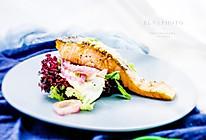 酒酿味增蒸烤三文鱼的做法
