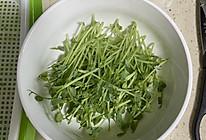 清炒豌豆苗的做法