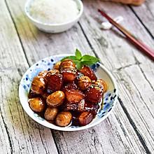 栗子红烧肉#铁釜烧饭就是香#