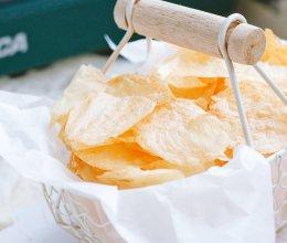#夏日撩人滋味#自制酥脆薯片 烤箱炸锅版的做法