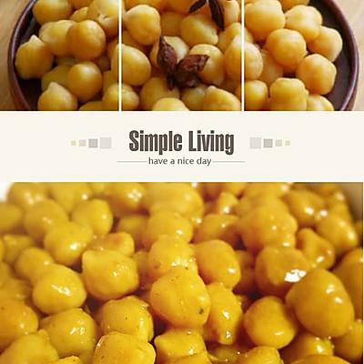 印度风味小食-椰香咖喱鹰嘴豆