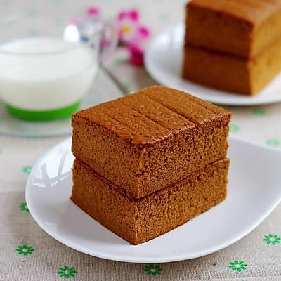之无油红糖蛋糕