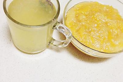 柚子茶 自制简易蜂蜜柚子茶