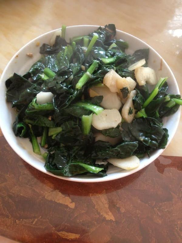 大喜大牛肉粉试用之马蹄青菜的做法