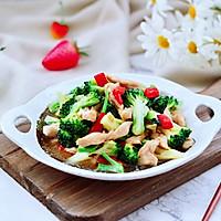 #快手又营养,我家的冬日必备菜品#西兰花溜鸡肉条的做法图解16
