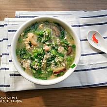 香菇鸡肉粥(砂锅版)#KitchenAid的美食故事#