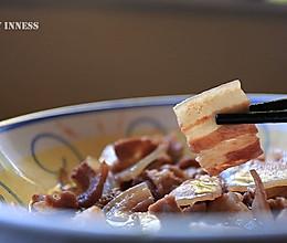 超级下饭的【虾酱蒸猪腩肉】粤式经典家常菜的做法