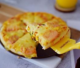 杂蔬火腿肠披萨的做法