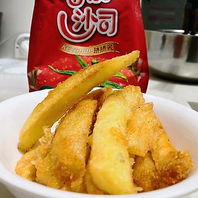 自制土豆薯条