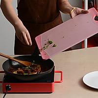 辣肉酱烧茄子的做法图解7