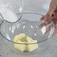 坚果黄油曲奇#百吉福黄油#的做法图解3