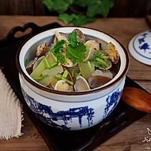 #520,美食撩动TA的心!#祛湿冬瓜蛤蜊汤