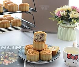 广式蔓越莓椰蓉馅月饼的做法