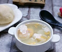 清肺润燥的山药百合鸡蛋汤的做法