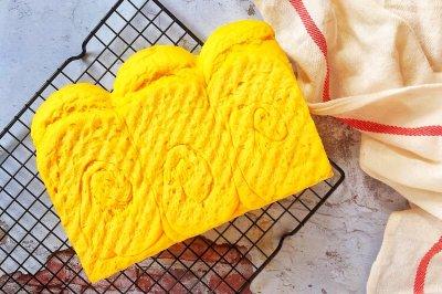 #甜粽VS咸粽,你是哪一党?#南瓜中种吐司