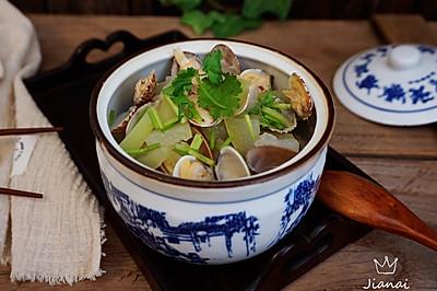 祛湿冬瓜蛤蜊汤