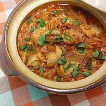 泡菜白肉砂锅 ★砂锅白菜 4