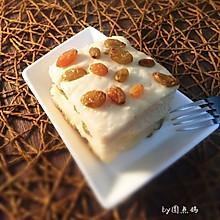 葡萄干燕麦发糕#营养早餐#