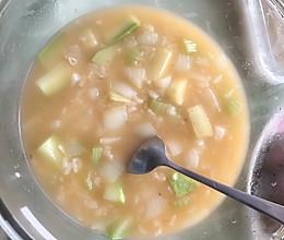 #换着花样吃早餐#5分钟做好一直老妈烫饭 满满一碗 热气腾腾的做法