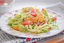 #餐桌上的春日限定#减脂餐~黎麦蔬果沙拉的做法
