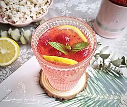 低卡夏日解暑饮料——蔓越莓冰爽柠檬水#爱乐甜夏日轻脂甜蜜#的做法