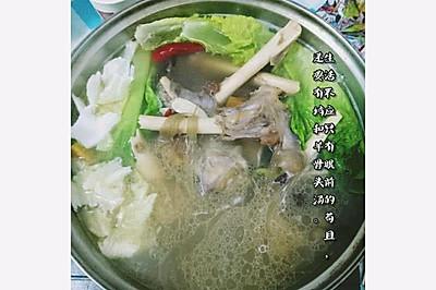冬日里的羊骨头汤