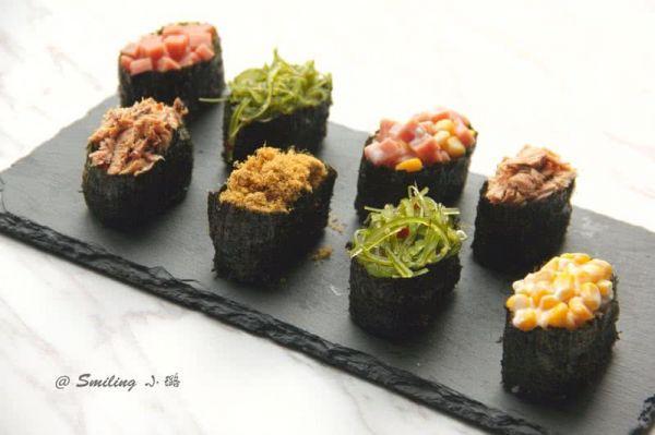 军舰寿司拼盘的做法