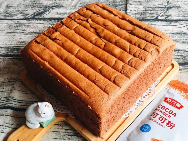10寸可可戚风蛋糕