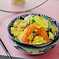什锦海鲜饭 #父亲节,给老爸做道菜#的做法图解1