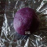 紫薯冰皮月饼的做法图解3