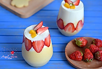 草莓芒果酸奶思慕雪的做法