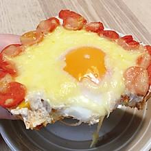 芝士火腿蛋黄酱金枪鱼吐司———集美味于一身的奶香土司