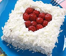 白巧克力树莓蛋糕的做法
